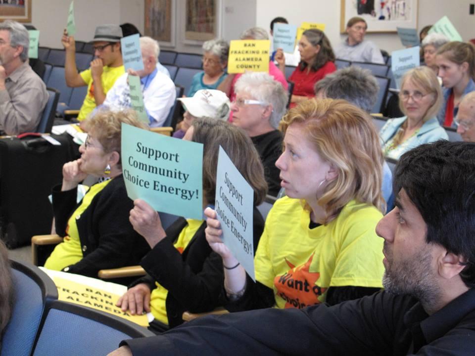 Alameda County Board of Supervisors meeting